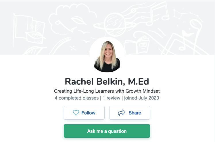 How to Teach Online on Outschool - Rachel K Belkin