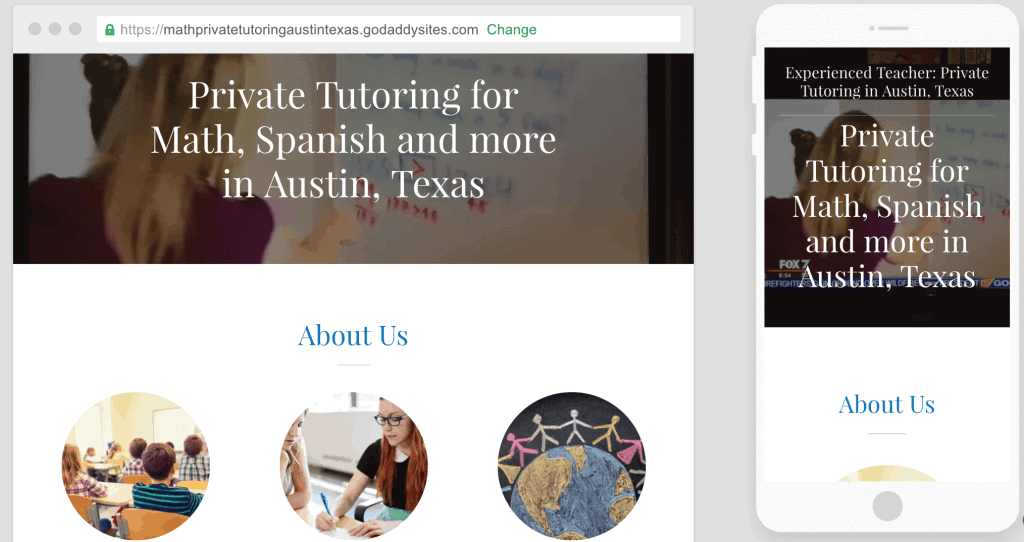 go-daddy-side-hustle-about-us-page-for-private-tutoring-austin-preview-1024x542-9345967