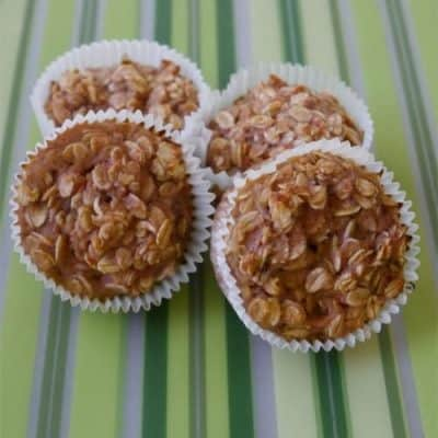 Healthy Oatmeal Muffins Recipe – Small Batch, Low Sugar, Low Fat, Easy