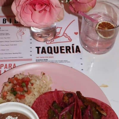 Taquero Mucho In Austin, Texas – Everything is Pink! Food and Drink Pics